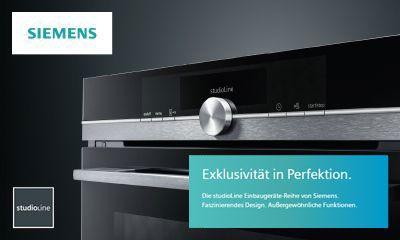 Siemens die neue studioline reihe im blacksteel design